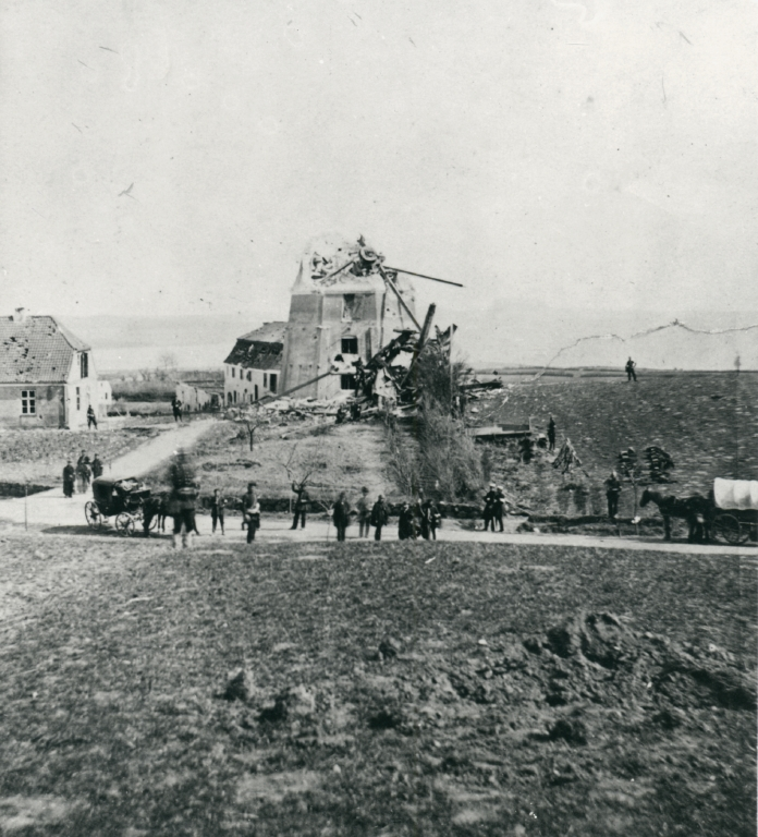Dybbøl Mølle i 1864
