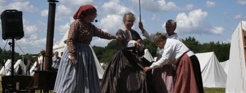 Kvindemode i 1864